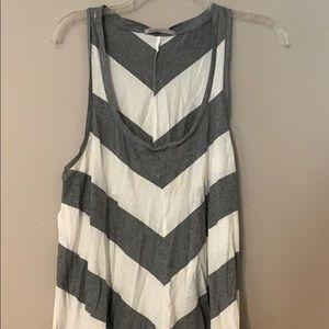 Striped tank shirt